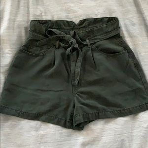 7 For All Mankind Paper Bag Shorts
